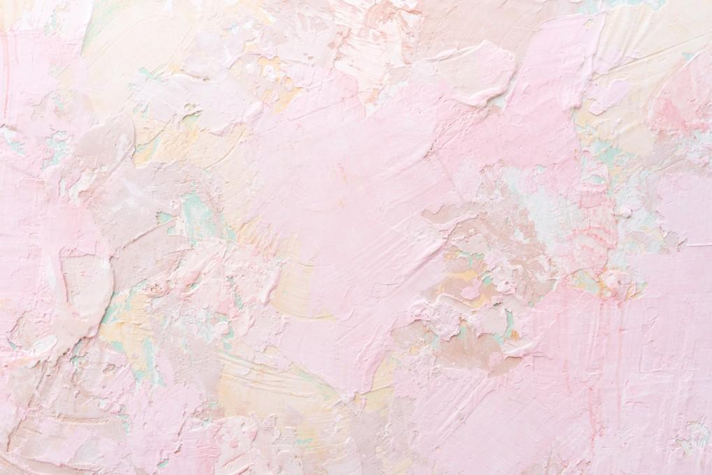 pink plaster stucco